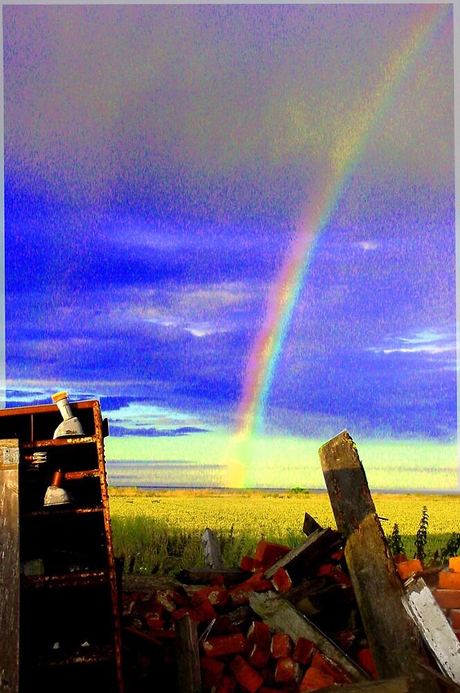 Rainbow rubbish by lurchama