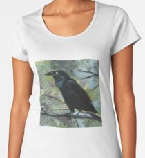 The Clever Crow Women's Premium T-Shirt