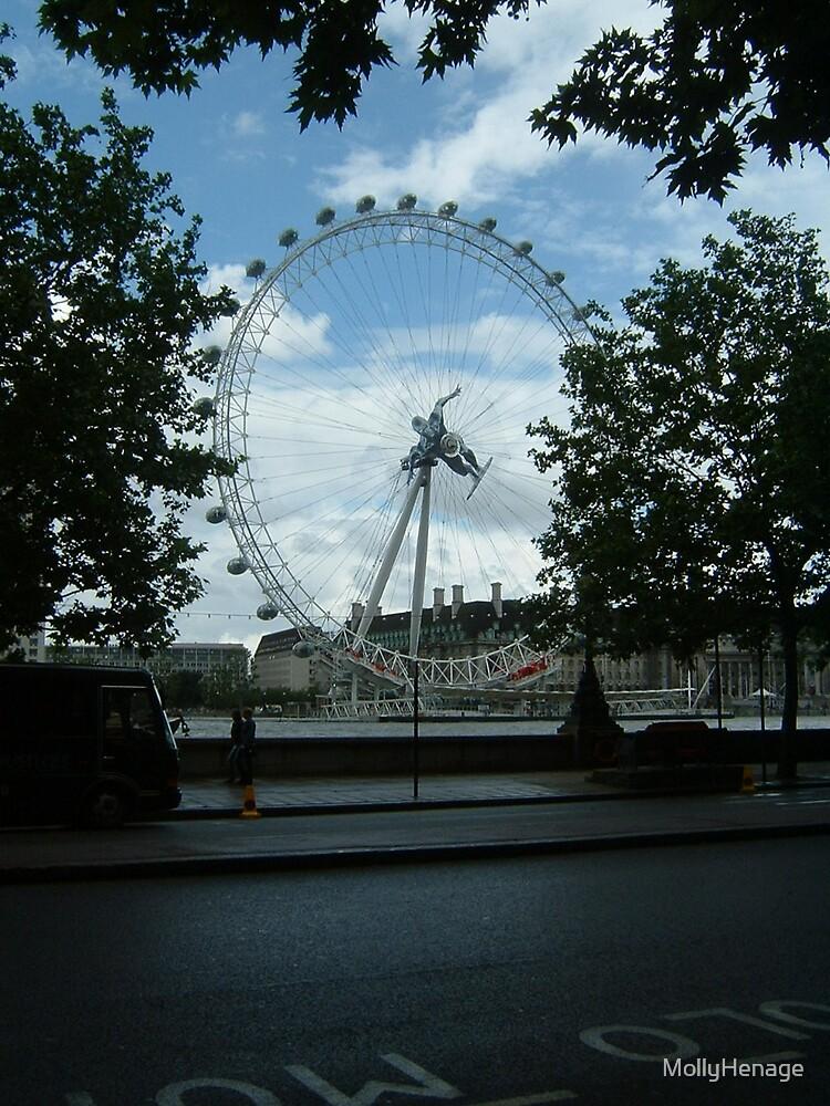 London Eye by MollyHenage