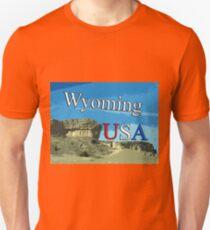Wyoming USA Unisex T-Shirt