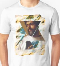 Terence McKenna Prism Psychedelic Graphic Art Unisex T-Shirt