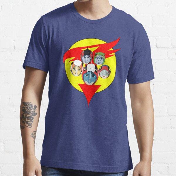 Battle of the Planets aka Gatchaman Team Essential T-Shirt