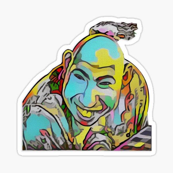 Portrait of a Sideshow Performer - Schlitzie Sticker