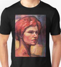 Portrait of Vasiliki Unisex T-Shirt
