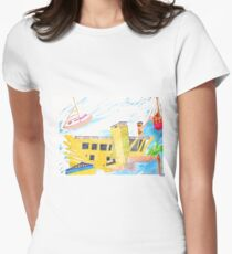The Pier at St. Pete Women's Fitted T-Shirt