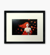 The Ghost of Autumn Framed Print