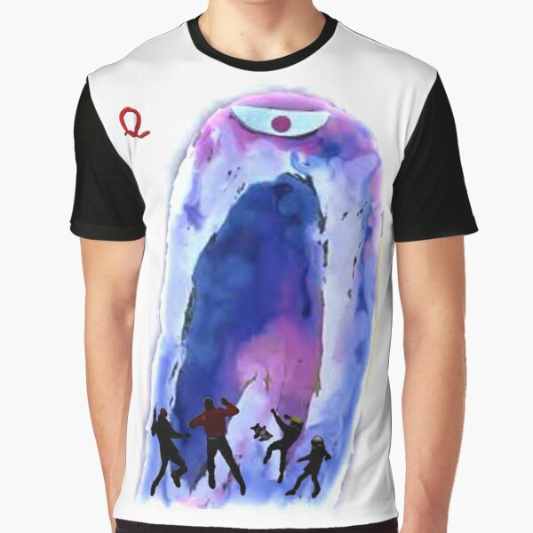 Jonny Quest Invisible Monster 2nd version Graphic T-Shirt