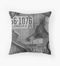 Items from the Past Throw Pillow