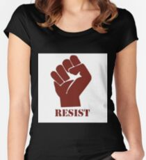 Resist! Women's Fitted Scoop T-Shirt
