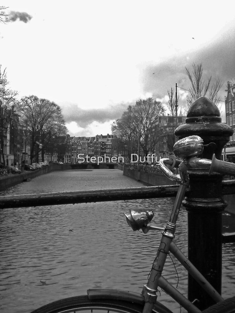 Bikes of Amsterdam by Stephen  Duffy