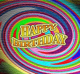 Happy Birthday Swirl by carib