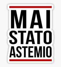 GEMITAIZ MAI STATO ASTEMIO KILLER GAME NIGHT BLACK Sticker