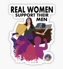 Real Women Fight Back: Business Sticker