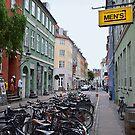 Copenhagen Latin Quarter Street by Catherine Sherman