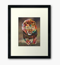 Colours of the King Framed Print