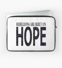 Rebellions are built on hope Laptop Sleeve