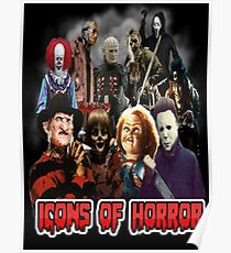 Icons of Horror Poster