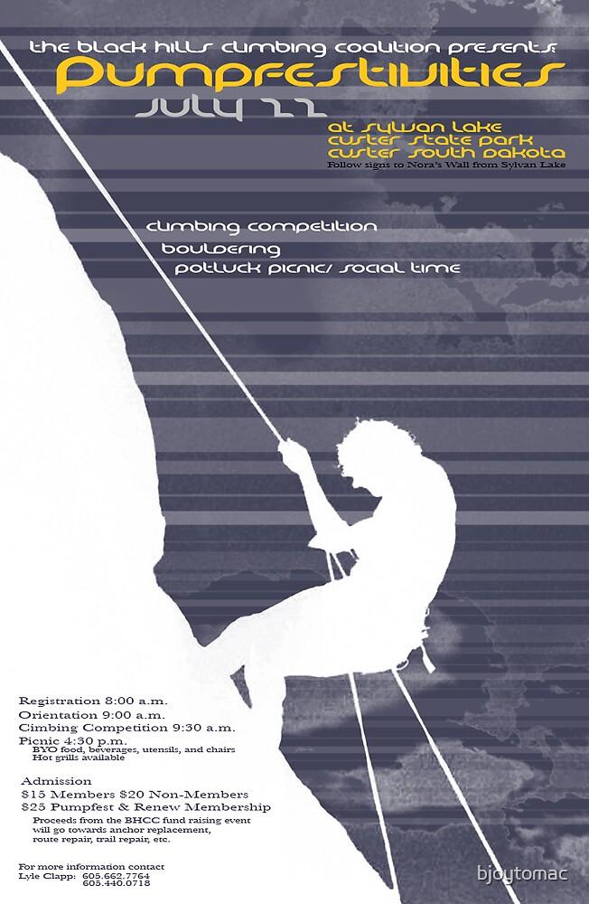 rock climbing by bjoytomac