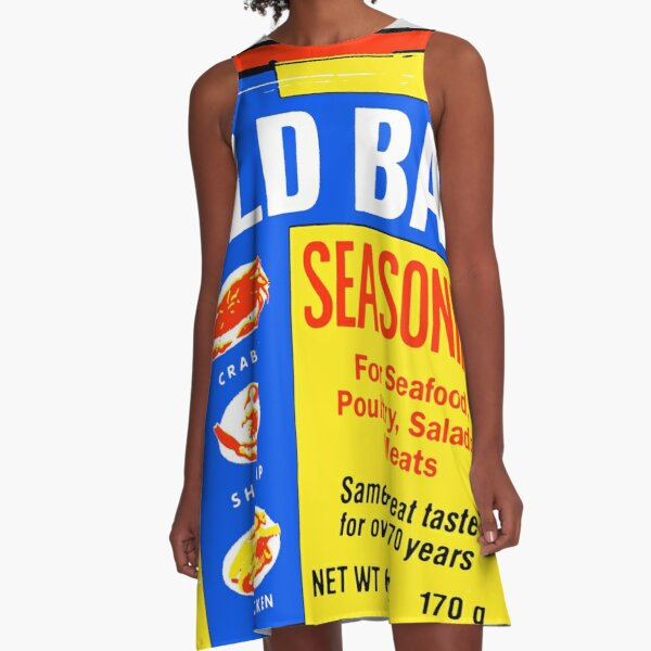 Old Bay Can A-Line Dress