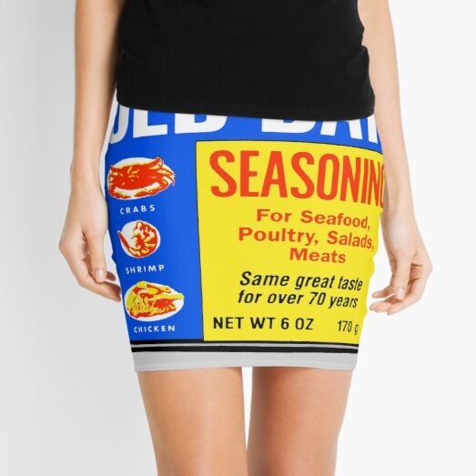 Old Bay Can Mini Skirt