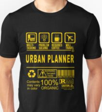 urban planner - will travel T-Shirt