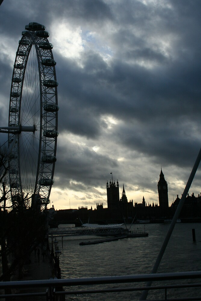 London Eye by jscott40