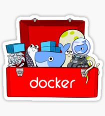 Docker Toolbox Sticker