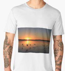 Sunset Birds Men's Premium T-Shirt