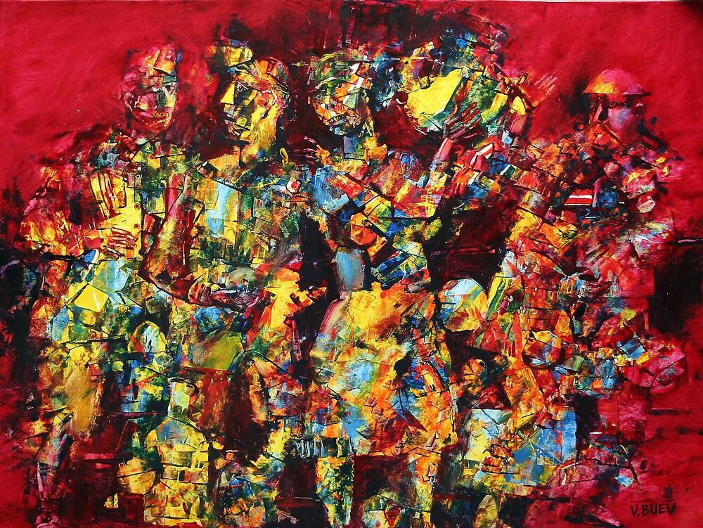 Mosaic 2 by Valeriu Buev