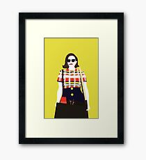 Peggy Olson Mad Men Gerahmtes Wandbild