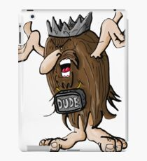 Cave Dude Ruler iPad Case/Skin