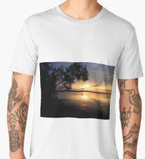Firey Sky Men's Premium T-Shirt