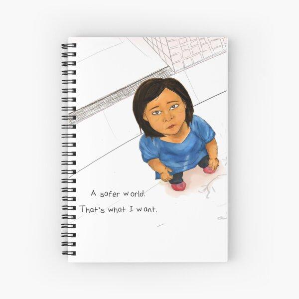 A Safer World Spiral Notebook