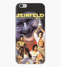 Newman Strikes Back Fan Art iPhone Case