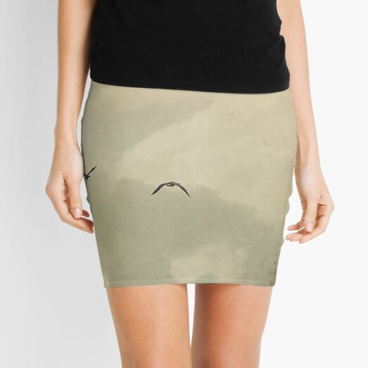 The long goodbye Mini Skirt