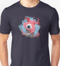 Crawling eye loses contact lens Unisex T-Shirt