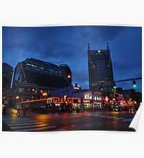 Nashville - Broadway 001 Poster