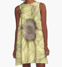 Sunflowers A-Line Dress
