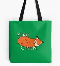 """Zero """"Fox"""" Given Tote Bag"""