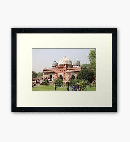 Humayun's Tomb, Delhi, India Framed Print