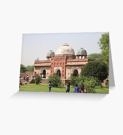 Humayun's Tomb, Delhi, India Greeting Card