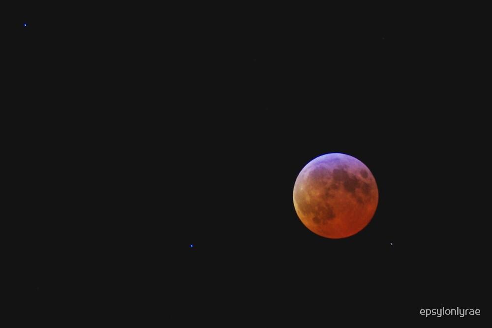 Luna rossa by epsylonlyrae