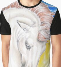 Andalusian Stallion Primary Colors Graphic T-Shirt