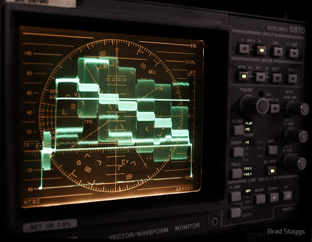 Vector/Waveform Monitor by Brad Staggs
