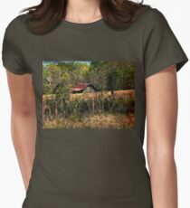 Down the Dirt Road Womens Fitted T-Shirt