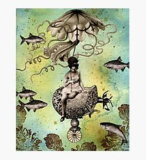Undersea Steampunk: Aurelia & her Jelly Cruiser Photographic Print
