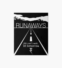 Runaways Art Board