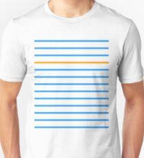 Complementary Parallels: Fleur-de-lis Unisex T-Shirt