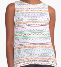 Colorfull Zentangle Contrast Tank