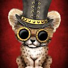 Steampunk-Baby-Gepard-Junges von jeff bartels